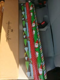 Xmas wrapping paper 6 rolls Cupertino, 95014