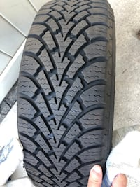 16 inch winter tires - rims included  Toronto, M9W 2R6
