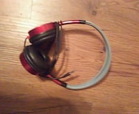 red and black corded headphones Martinez, 30907