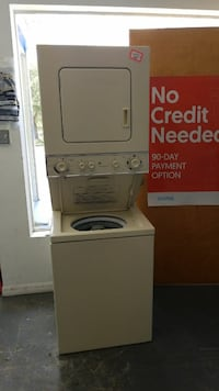 white stack washer and dryer set Gainesville