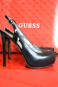 Brand New Guess Shoes- 6 1/2 black leather Vaughan, L4H 2J1