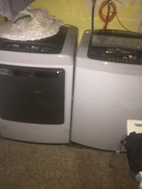 white and black washer and dryer set Cheney