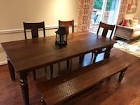 World Market Farmhouse Dining Room Set Gaithersburg, 20877