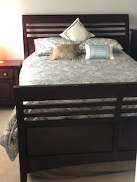 Modern Designer Queen Sized Bed in IMMACULATE CONDITION. Shrewsbury, 01545