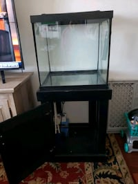 35 gallon cube tank with stand