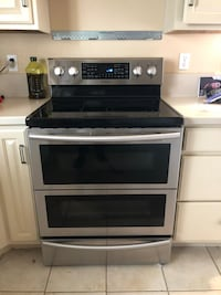 gray and black induction range oven Lacey