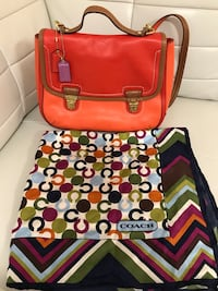 Brand New Authentic Coach Crossbody Bag & Scarf