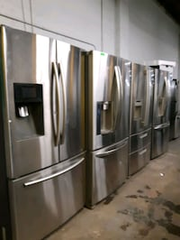 FRENCH DOORS FRIDGES WORKING PERFECTLY $499.00 & UP