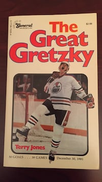 The Great Gretzky - paperback book -1982 Edmonton, T6R 0B1