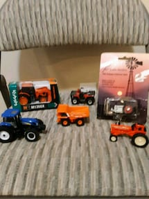 Toy tractor lot