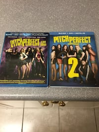Pitch Perfect and Pitch Perfect 2 Blu-Rays  Edmonton, T5H