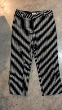 Size 8 black white stripe pants  Cookeville, 38501