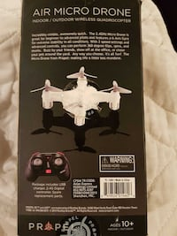 white and gray Air Micro Drone box