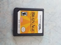 Brain Age Nintendo DS game cartridge