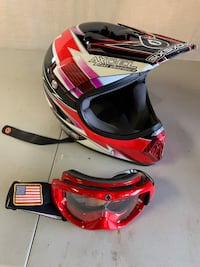 Youth motor cross helmet and SPY goggles Knoxville, 21758
