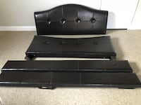 Leather queen bed frame  La Mesa, 91941