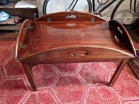 Antique Cherry Wood Coffee Table Washington, 20424