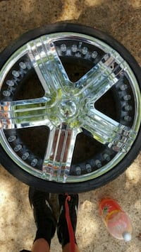 "Set of 4 22"" emr incubus rims"