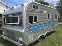 White and gray camper trailer Fort Erie, L2A 1P8