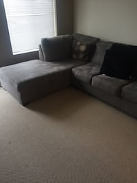 gray fabric 2-seat sofa and dining table  Grande Prairie, T8V 7T9