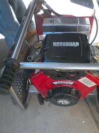 red and black Vanguard air compressor Fresno, 93720