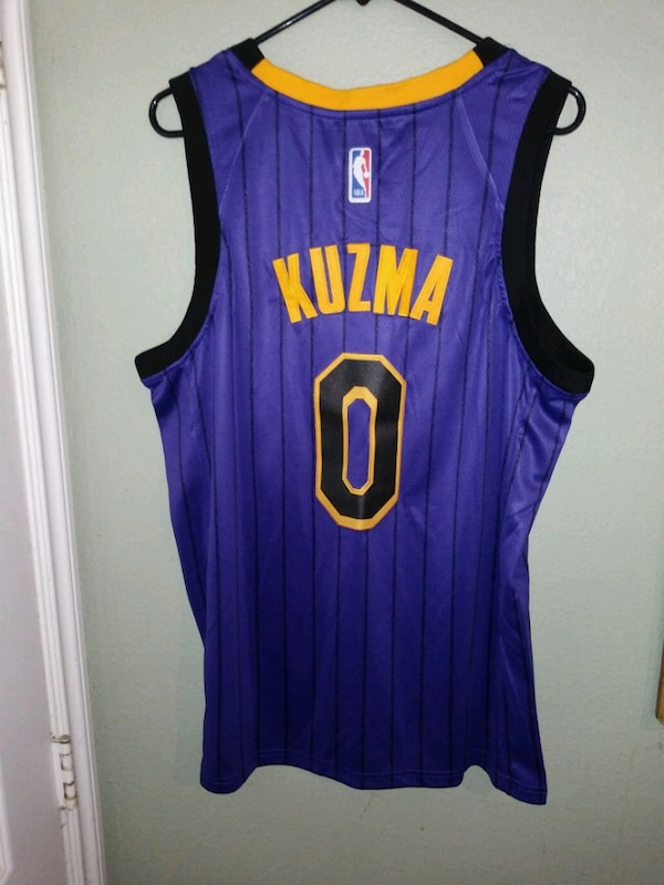 the best attitude 1cddd 04e6d L.A. LAKERS KUZMA JERSEY