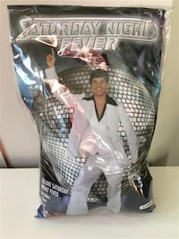 Saturday Night Fever White suit - Adult XL (Worn once - includes black shirt, vest, jacket, and pants) Markham