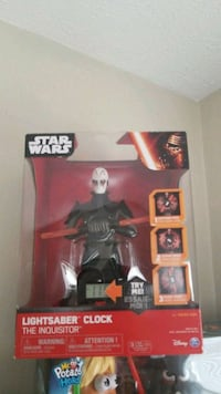 Lightsaber clock star wars the inquisitor Akron, 44313