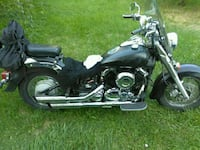 black and gray touring motorcycle Uniontown, 44685