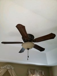 Hunter Ceiling Fan. comes complete with Hunter rem Callahan, 32011