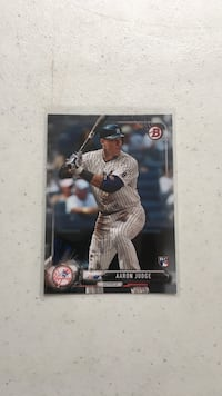 Aaron judge trading card