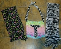 Justice scarf and bag with zebra old navy scarf Southington, 06489