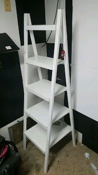white and black wooden shelfs San Angelo