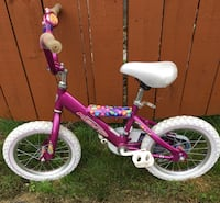 toddler's pink and white bicycle Williamsville, 14221