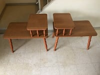 two brown wooden side tables Winnipeg, R2L 1P8