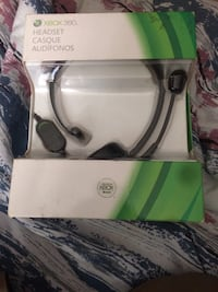 Official Microsoft Xbox 360 Headset Brand New Brampton, L6S