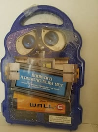 Wall-E Book & Magnetic Play Set Victorville, 92395