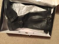 Guess black boots size 10 like  new Portsmouth, 03801