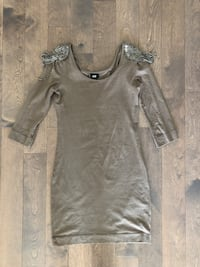 Woman tight taupe summer dress Toronto, M5A