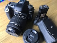 Canon 80D with Battery Grip and 2 lenses  Myrtle Beach, 29588