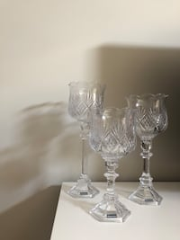 Crystal candle holders Calgary, T2Y 4R6