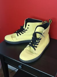 Yellow Dr. Martens size 11 Cloverly