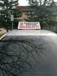 Driving lessons/early road test booking  Brampton, L6R