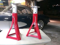 Nostalgic automotive jackstands