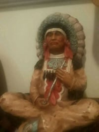 Hand carved native statue Duluth, 55807