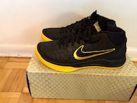 Nike Kobe AD BM Lakers Gold Black Mamba Size 9