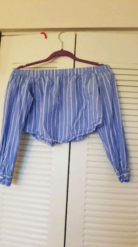blue and white stripe shorts Laurel, 20707