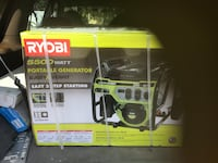 Black and green ryobi electric chainsaw box Oldsmar, 34677