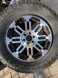 Tire wheel set P255/65R16 LASVEGAS
