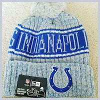 AUTHENTIC NFL FOOTBALL WINTER BEANIE HAT.  40 km